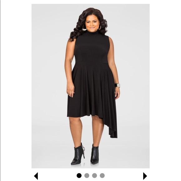 Ashley Stewart Dresses | Black Plus Size Dress | Poshmark